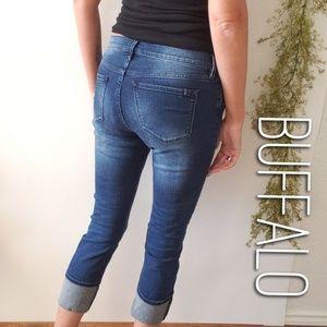 BUFFALO Faith mid rise crop skinny jeans